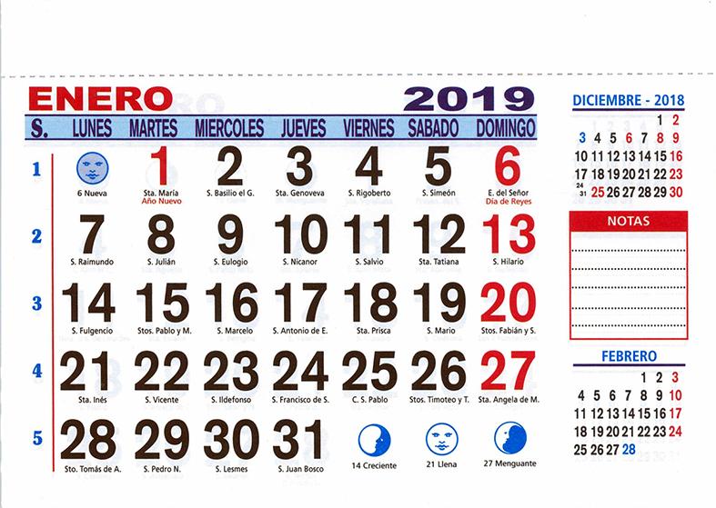 Calendario Santoral.Calendario Faldilla 10x15 Con Iman