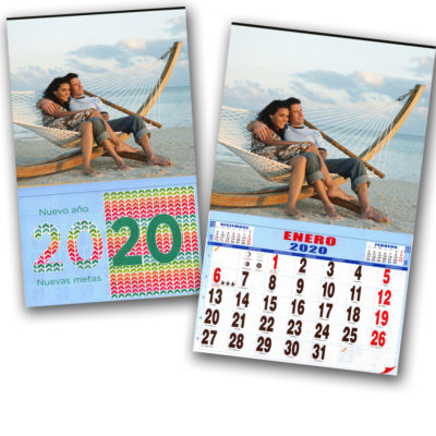 Calendarios 2020